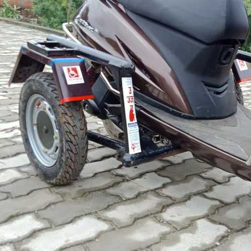 Side Wheel Attachment Handicapped Vehicle