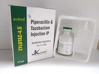 PIPERACILLIN TAZOBACTAM 4.5 GM