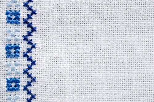 Cross Stitch Embroidery Design Work Fabric