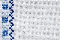 Cross Stitch Embroidery Design Work Fabric