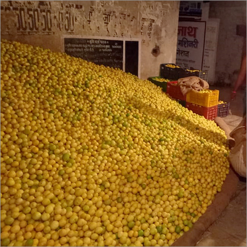 Yellow Fresh Lemon