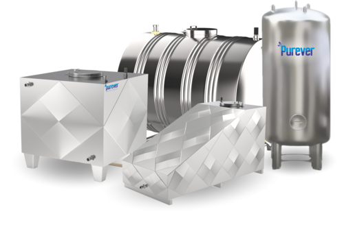 Non Insulated Stainless Steel Tanks