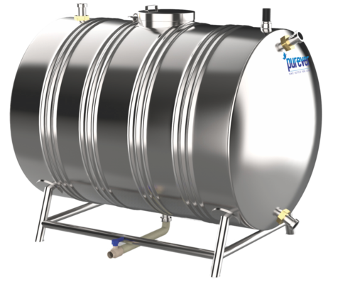 Non Insulated SS Water Tanks