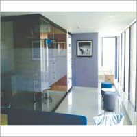 Glass Office Cabin Partition