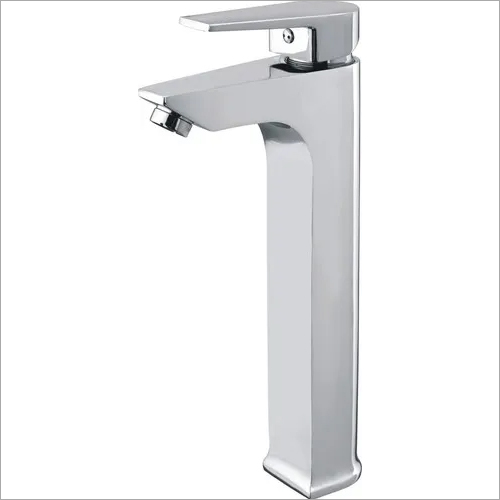 BRASS SINGLE LEVER BASIN MIXER TALL BODY