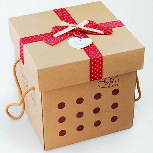 Square Gift Box Printing Service