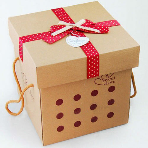Square Gift Box Printing Service