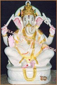 Chaturbhuj Ganesha Statue