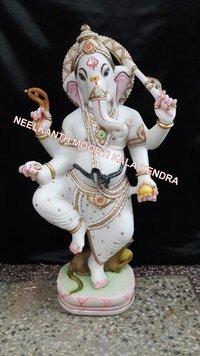 Dancing Ganesha Statue