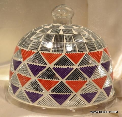 Glass Mosaic Antique Cake Cover
