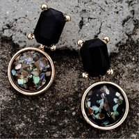 Earring-Kox Crush Black