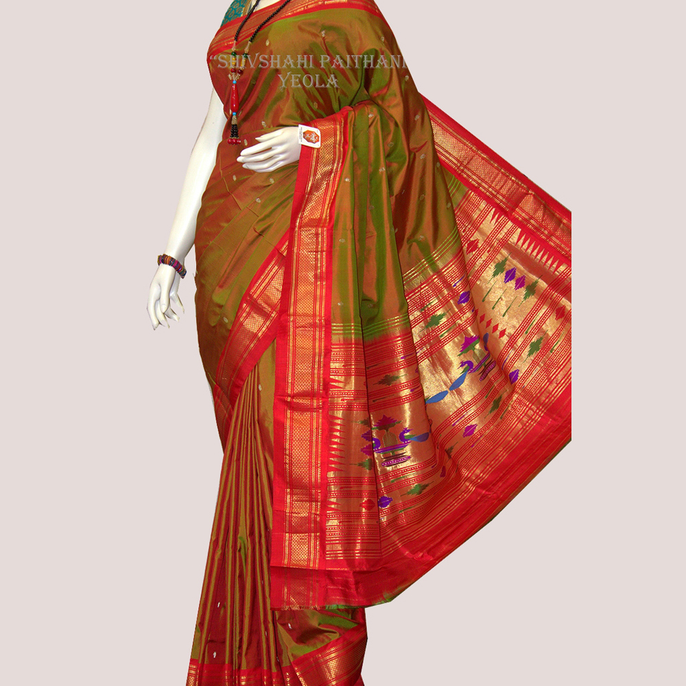Single Pallu Saree