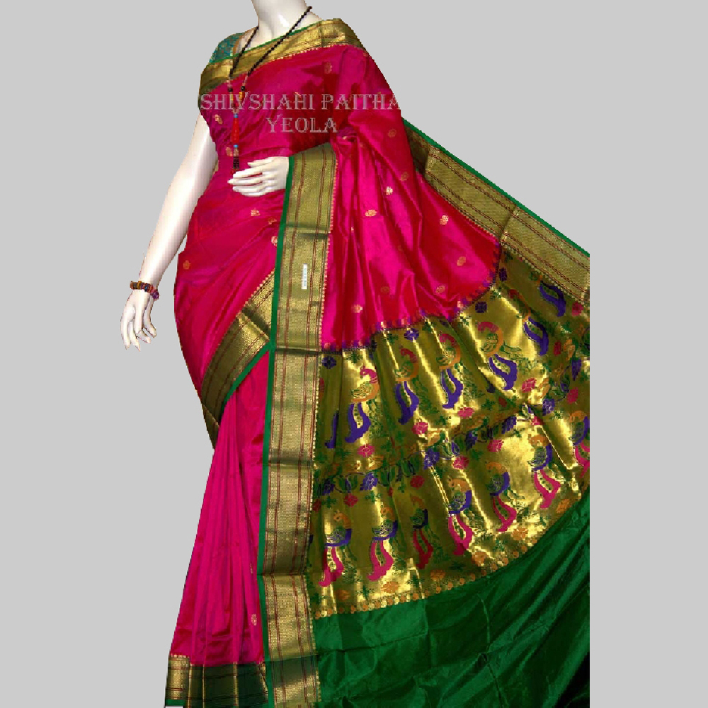 Double Pallu Saree