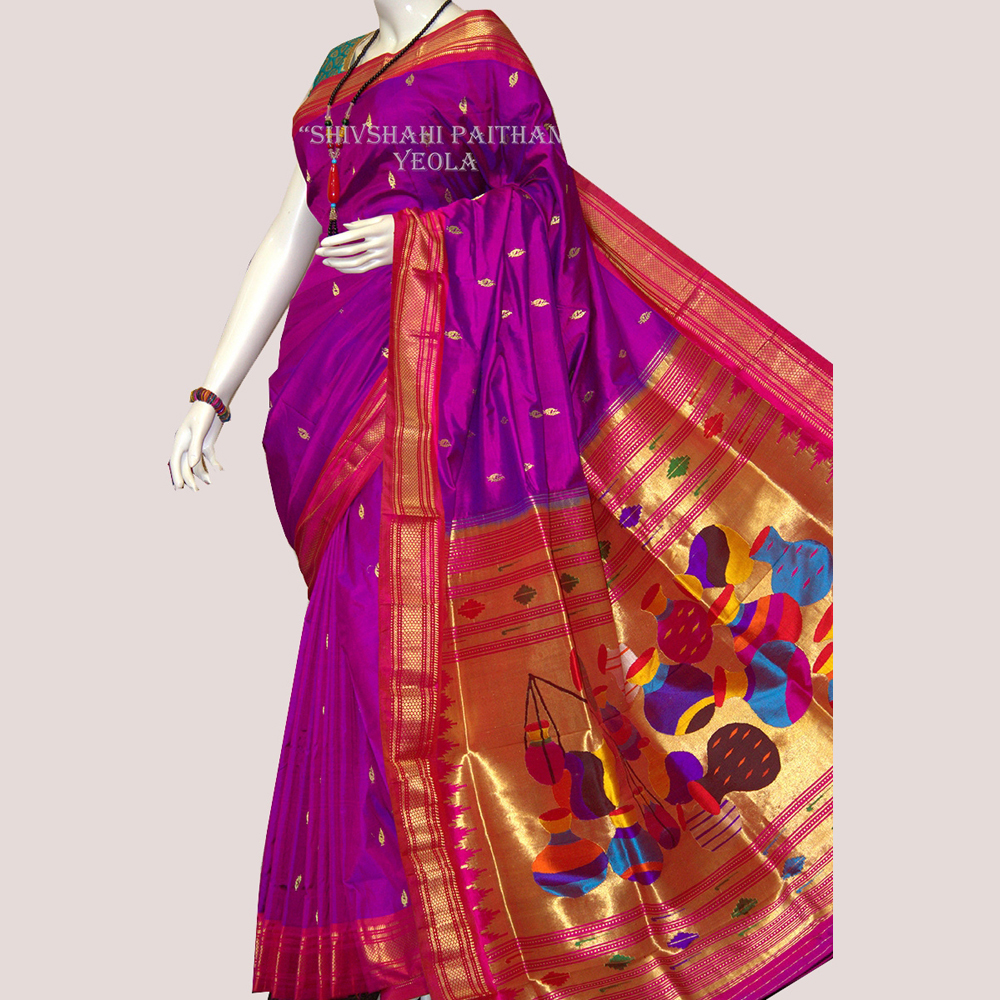 Fancy Pallu Saree