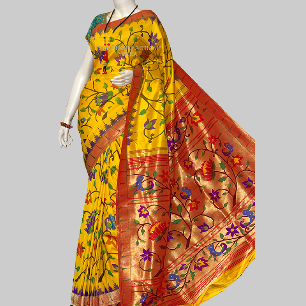Brocked Paithani Saree