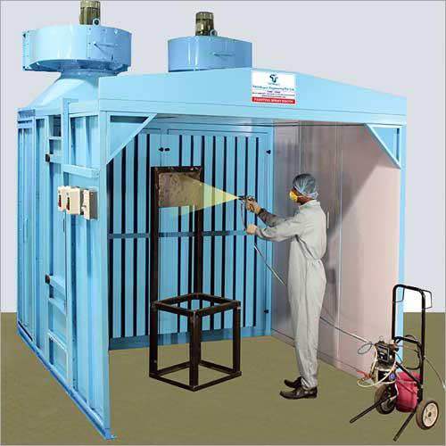 Dry Filter Spray Booth