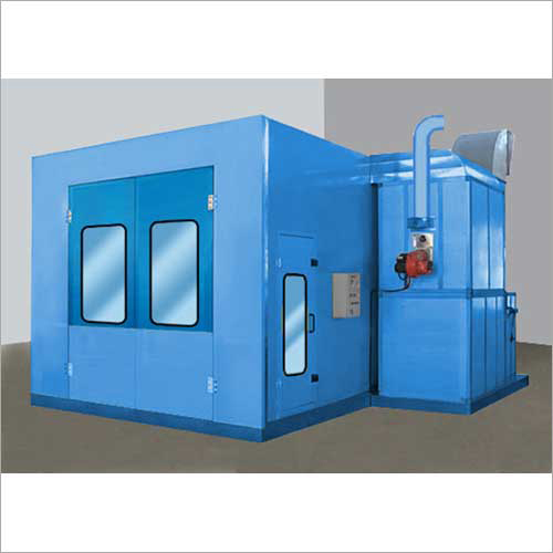 Motorcycle Spray Booth
