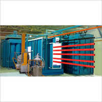 Fully Automatic Powder Coating Plant