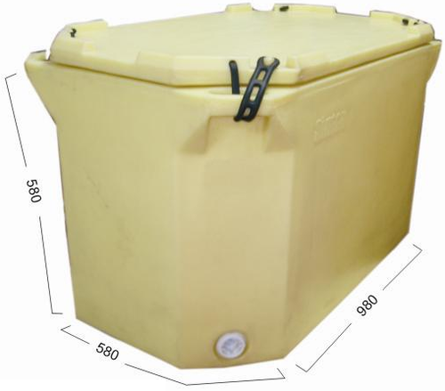 Rubber Clamp Box 220 Ltrs