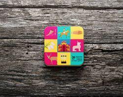 Promotional Wooden Tea Coaster