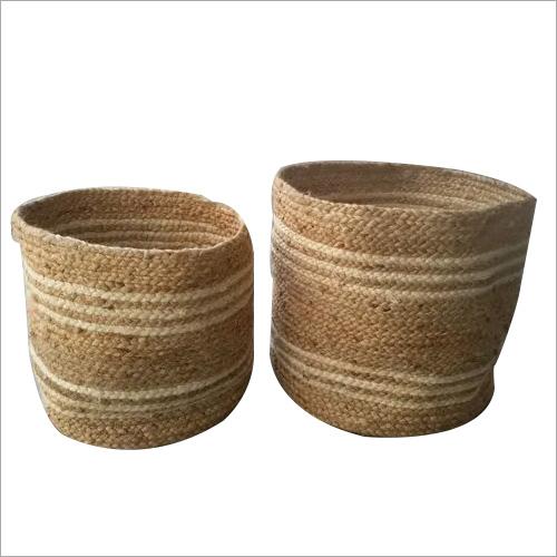 Round Shape Jute Basket