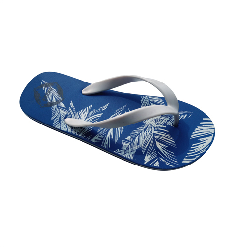 Mens Printed Flip Flop Slippers