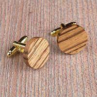 Wooden Cufflink