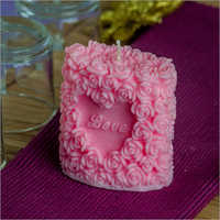 Love Rose Pink Candle