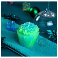 Tart Dahlia: Green, Lemon Grass 2 pieces