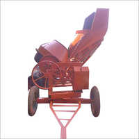 Hydraulic Type Concrete Mixer Machine