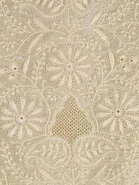 Chikan Embroidery Service / Chikan Embroidered Fabric