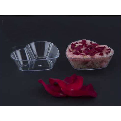 Mousse Cup -Glass And Plate