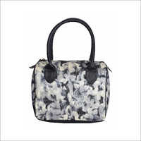 Ladies Floral Print Fabric Handbag