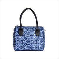 Ladies Printed Fabric Handbag