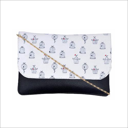 Ladies Leatherette Sling Bag