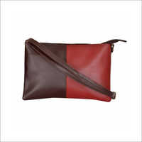 Ladies Synthetic Leather Sling Bag