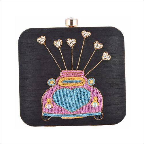 Ladies Designer Zardosi Clutch