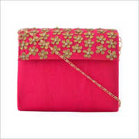 Ladies Gota Patti Clutch