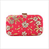 Ladies Designer Gota Pati Work Clutch