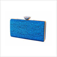Ladies Textured Fabric Clutch