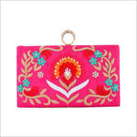 Ladies Heavy Embroidered Clutch