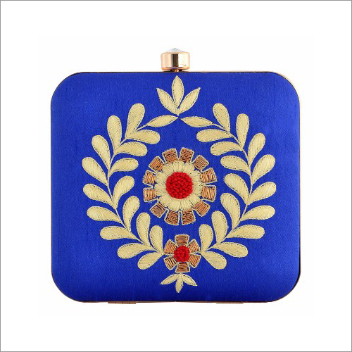 Ladies Hand Embroidered Clutch