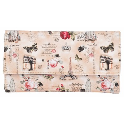 Ladies Printed Synthetic Leather Clutch