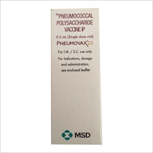 Penumococcal vaccine