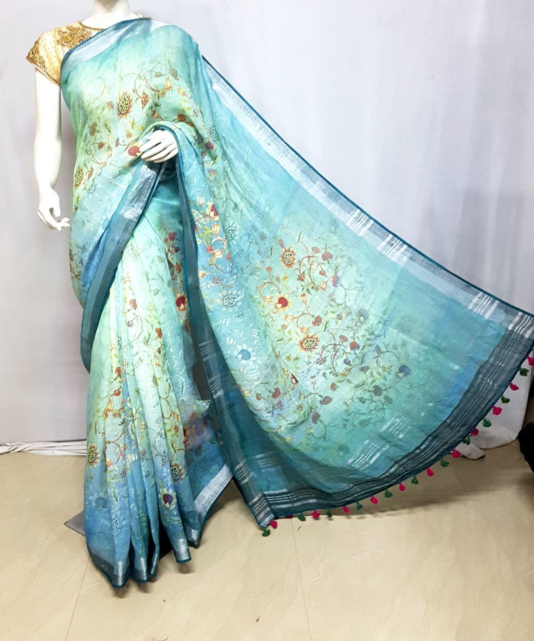 Ladies Print Sarees