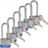 Key Retaining Steel Padlocks