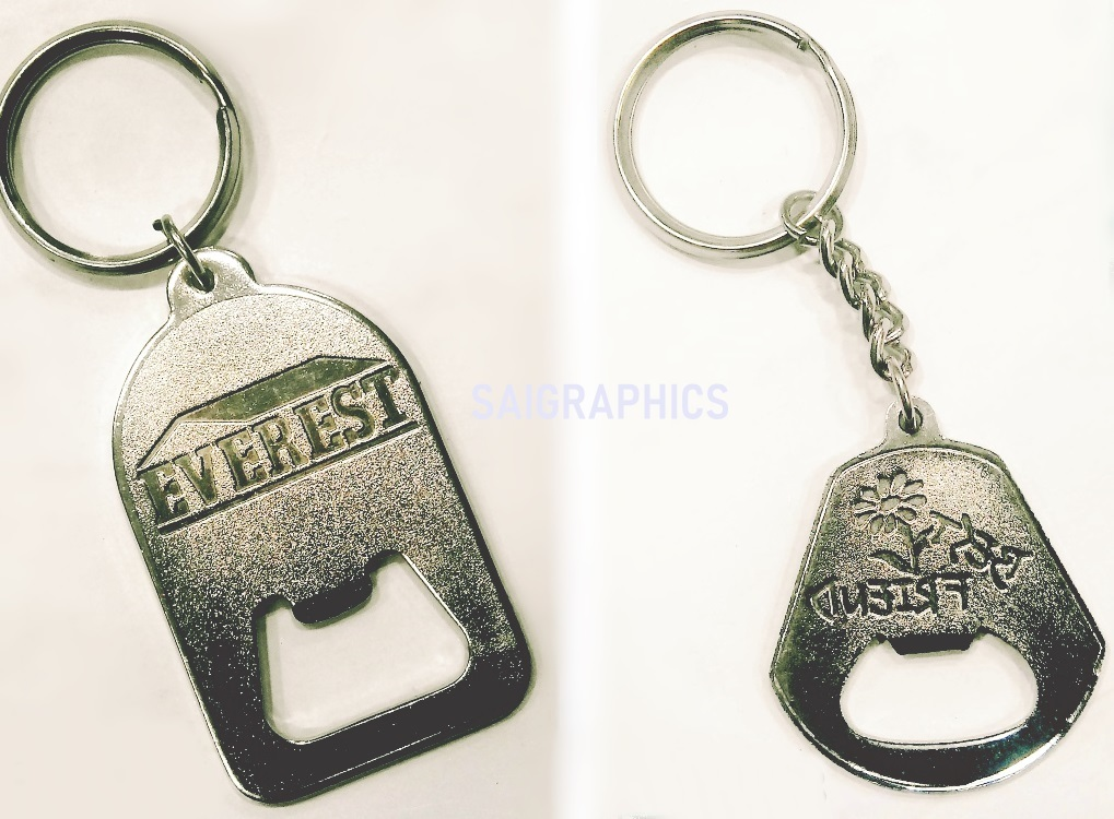 All types Of metal key chains