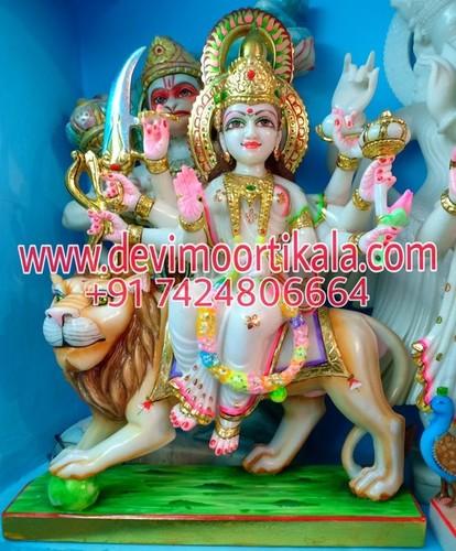 DurgaMata statue in Marble