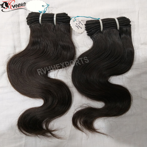 Human Virgin Temple Hair