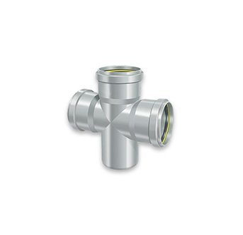 SWR Fittings Cross Tee